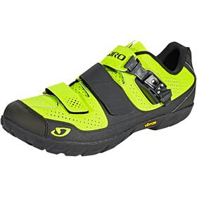 Giro Terraduro skor Herr grön/svart